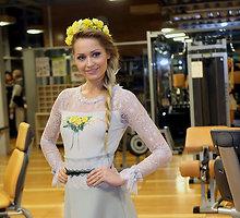 """Natalijos Šakelienės naujos kolekcijos  """"Žiedų gausa"""" pristatymas"""