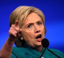 H.Clinton: JAV yra davusi geležines garantijas NATO partneriams ginti juos užpuolimo atveju