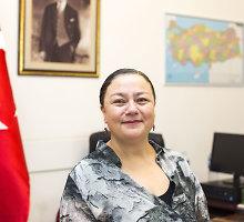 """Turkijos ambasadorė Aydan Yamancan apie perversmą jos šalyje: """"Akimirką pamaniau, kad tai pokštas"""""""
