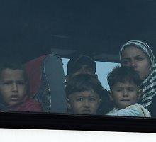 Pabėgėlių priėmimui visiškai nepritaria apie 46 proc. gyventojų