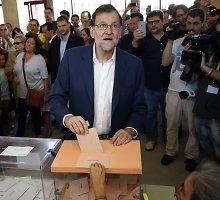 Smūgis Ispanijos konservatoriams: socialistai neketina palaikyti koalicijos