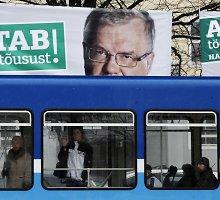 Prorusiška Estijos Centro partija burba dėl jų pergalę atėmusio elektroninio balsavimo