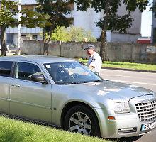Pradėtas tyrimas dėl įtariamo patrulio ir prokuroro suokalbio reido Kaune metu