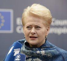 """Dalia Grybauskaitė: """"Brexit"""" – žmonių ir politikos elito nesusikalbėjimo rezultatas"""