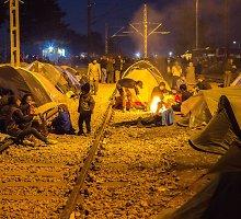 #Paskuipabėgėlius: Idomeni aklavietė – klajoklių taboras šalia Makedonijos sienos