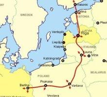 """Estijos vyriausybė pasirinko galimas """"Rail Baltica"""" trasas"""