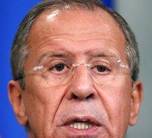 Nauja Sergejaus Lavrovo demagogija: Rusijos kariai nesikiš į Rytų Ukrainą