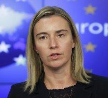 ES diplomatijos vadovė Federica Mogherini pasisako už Donbaso autonomiją