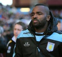 """Brangiausias visų laikų """"Aston Villa"""" žaidėjas išnuomotas antro diviziono klubui"""