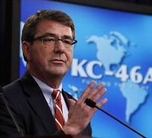 Naujuoju Pentagono vadovu tikriausiai taps Ashtonas Carteris
