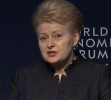 Dalia Grybauskaitė: mes susiduriame su didžiuliu tarptautiniu terorizmu, net jei nenorime to matyti