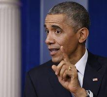 """Barackas Obama metinėje spaudos konferencijoje: """"Sony"""" padarė klaidą"""