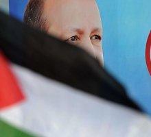 Turkijos premjeras Erdoganas Izraelio veiksmus prilygino Hitlerio siautėjimui