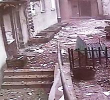 Vaizdo įrašas: štai taip Varšuvos centro daugiabutyje įvyko sprogimas