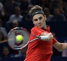Rogeriui Federeriui teko rimtas testas Paryžiaus antrame rate