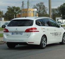 """""""Peugeot EcoCup"""" žygio Ryga – Paryžius dalyviai sau kelia skirtingus tikslus"""