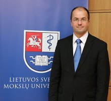 LSMU rektorius: mokslinės veiklos rezultatai verčia didinti lėšas doktorantūros studijoms