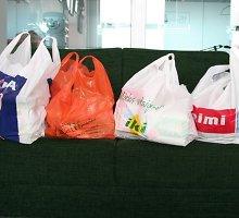 Kuo pakeisti plastikinius maišelius?