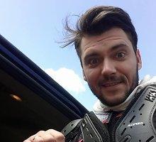 """Tadas Rimgaila išlaikė motociklininko egzaminą: """"Neplanuoju pirkti britvos"""""""