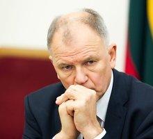 Susimovusio Vytenio Andriukaičio iš EK komisarų Lietuva negalėtų atšaukti net norėdama