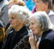 Vidutinė pensija gali padidėti 3 litais 43 centais