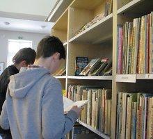 Telšiuose po beveik 10 metų rekonstrukcijos atidaryta biblioteka