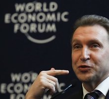 Rusijos valdžios turtai: vicepremjeras Igoris Šuvalovas turi 45,2 mln. eurų vertės privatų lėktuvą