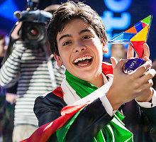 """Vaikų """"Euroviziją"""" laimėjo 14-metis Italijos atstovas Vincenzo Cantiello"""