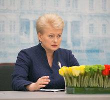 """Kas išvertė ir Europarlamente išdalijo knygą apie D.Grybauskaitę """"Red Dalia""""?"""