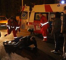 Panevėžyje BMW vairuotoja partrenkė per perėją ėjusį vaikiną