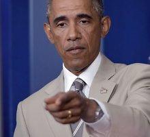 Barackas Obama per vizitą Estijoje pasiųs žinią Vladimirui Putinui