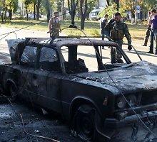 Rusijos kariuomenė įsitvirtina Novoazovske ir rengiasi Mariupolio puolimui