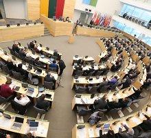 Seimas priėmė pataisas dėl karinės jėgos panaudojimo taikos metu