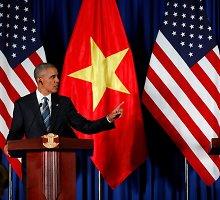 Istorinis sprendimas: JAV atšaukė prekybos ginklais embargą Vietnamui