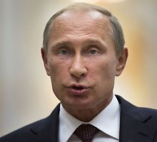 Rusijos prezidentas Vladimiras Putinas kreipėsi į Donbaso teroristų grupuotes