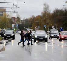 Kaune pėsčiųjų mirtis dažniausiai tyko didžiųjų prospektų perėjose