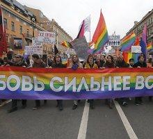 Homoseksualų teises Archangelske ginanti organizacija paskelbta užsienio agente