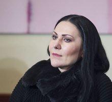 """Anželika Cholina: """"Pusė mano daiktų yra čia, kita pusė jau iškeliavo į Maskvą"""""""