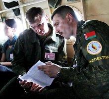 Lietuvoje lankysis Baltarusijos ginkluotės kontrolės inspektoriai