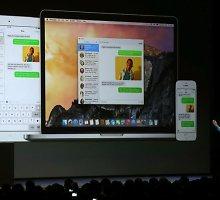 """""""Apple"""" vartotojai suirzę: norint atnaujinti """"iOS"""", reikia 6 GB papildomos vietos"""