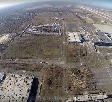 Internete – mirusios Donecko žemės vaizdai iš paukščio skrydžio