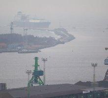 Klaipėda spaudos veidrodyje: Vaiduokliai blaškosi ir jūrų uoste
