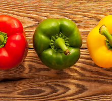 Ką reiškia įvairios vaisių ir daržovių spalvos?