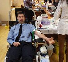 Pravieniškių pataisos namuose-atvirojoje kolonijoje liejosi kraujas: donorystės diena