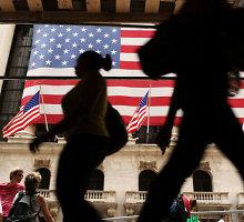 JAV biržų indeksai kopia aukštyn