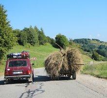 """Į egzotiškąją Rumuniją – su automobiliu """"Lada Niva"""""""