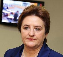 Seimo pirmininkė Loreta Graužinienė gėjams laiko neranda