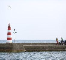 Jūroje ties Nida ir Juodkrante planuojamas uostas