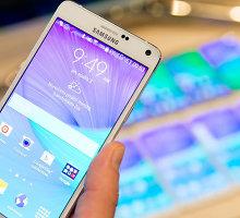 """Lietuvoje pradedama prekiauti """"Samsung Galaxy Note 4"""""""