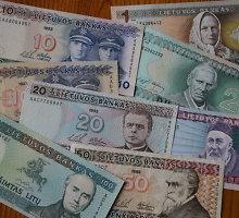 Bedarbis Klaipėdoje uždarbiavo nelegaliai keisdamas pinigus